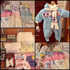 Vintage Baby Clothing, Lord & Taylor Dresses, Carters & More