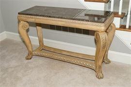 1. Renaissance Style Sofa Table