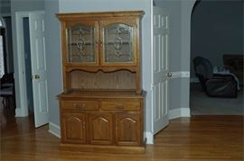 7. Provincial Style Hutch