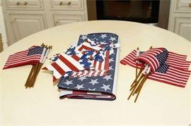 9. Assorted Americana Decorations