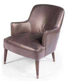 Sarreid Mont Blanc leather chair