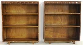 Matching pair bookshelves by Springfield