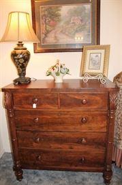 antique scottish chest of drawers
