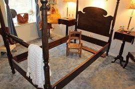 antique twin bedroom set