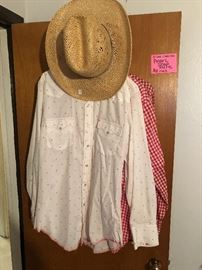 Lots of Pearl snap men's vintage shirts