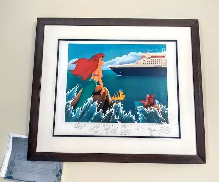 Disney's The Little Mermaid - signed