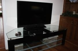 Flat Screen TV and stand