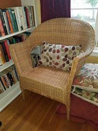 Oversized Wicker Chair