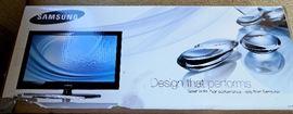 New TV in box.