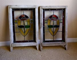 Great stained glass vintage windows.