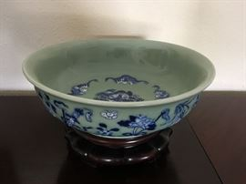 Antique Chinese Bowl, 19th Century Chinese