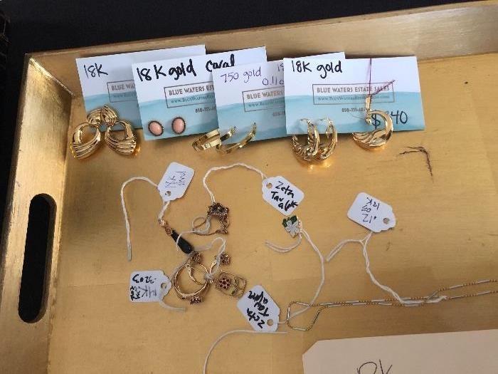 18K jewelry
