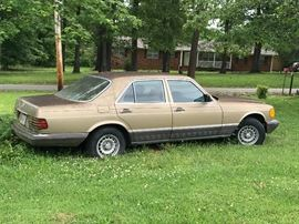 1985 Mercedes - Gas