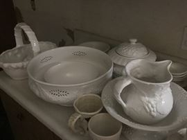 Nice White serving dishes