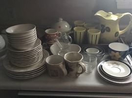 Lots of Dishes - sets and misc