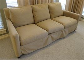 Lee Industries sofa with slipcover