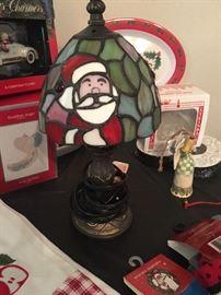 Santa Lamp