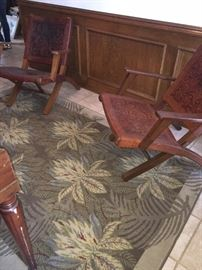 Pic of pair of Safari Chairs