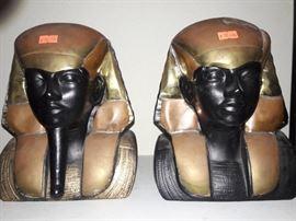 METAL & CERAMIC EGYPTIAN FIGURES