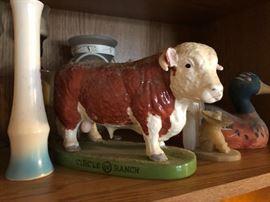 Circle W Ranch Bull Mascot