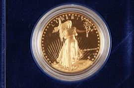 1986 American Eagle $50 Gold Proof 1 Oz Coin