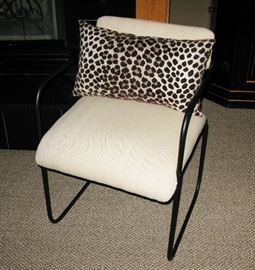 Black frame side chairs, there are 2                                        BUY IT NOW FOR $ 45.00 EACH