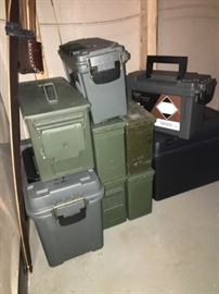 Ammunition cases and more