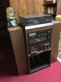 Stereo system, works!