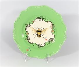 LOT NEW IN BOX NATURE TABLE BY LOU ROTA BUMBLE BEE PLATE