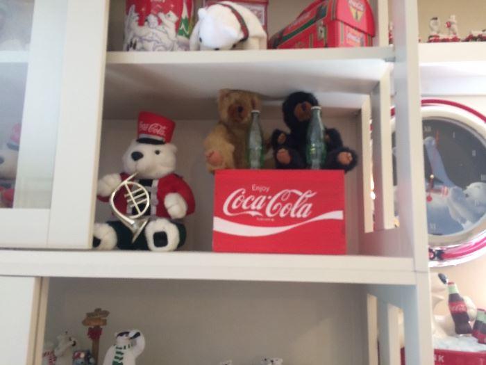 Coca cola bears- Boyd bears