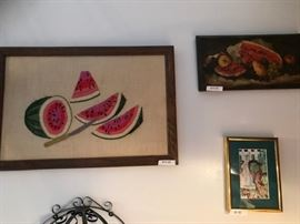 Watermelon? All kind of artistic interpretation. Your house is crying out for melon, you must know this.
