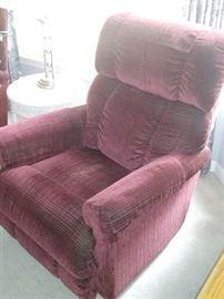 1 of 2 rocker / glider recliners