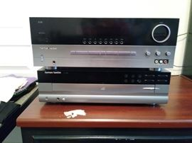 Harman Kardon CD player and amplifier