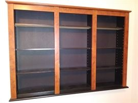 wall mounted shelf display unit