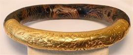 Chinese high karat gold bracelet
