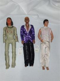 1960s Ken and Johnny West Figures