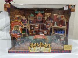2001 Harry Potter Playset