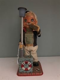 Charlie Weaver mechanical toy.