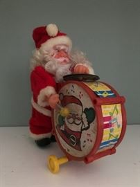 Santa Claus mechanical toy.