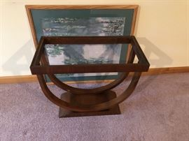 Empire occasional table needs glass top