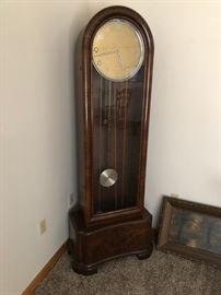 German tall clock will be a bid item. Bids may be received at any time and end with the highest bid at Noon on Saturday December 8th. Minimum bid $100. Call 518-488-4273 to bid and leave contact information, Clock must be removed by arrangement at the end of the sale.