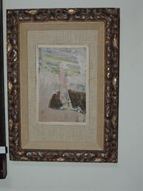 several pieces of small-sized art in this sale