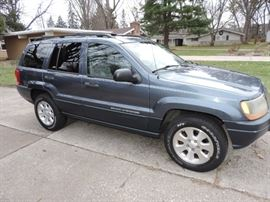 JUST ADDED THE NIGHT BEFORE THE SALE !!! 2001 JEEP - Priced at $2,995.00 - with 92K Miles !!!