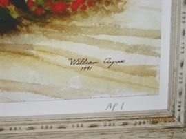 Signature William Ayres 1991 Artist Proof #1