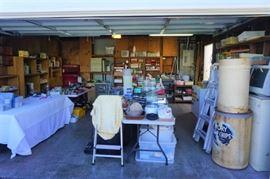 Overloaded garage!