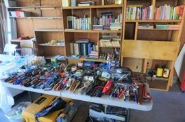 Tons of hand tools, mostly Craftsmen