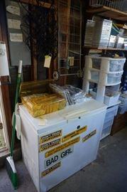 Kenmore garage freezer!