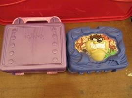 1996 Taz lunch box igloo lunch box both have fh ...