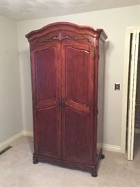 "$350 Solid wood TV Armoire. Can be converted into a bar! Armoire measures 82""T x 40""W x 22""D"