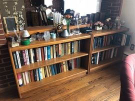 Bookcases and books!